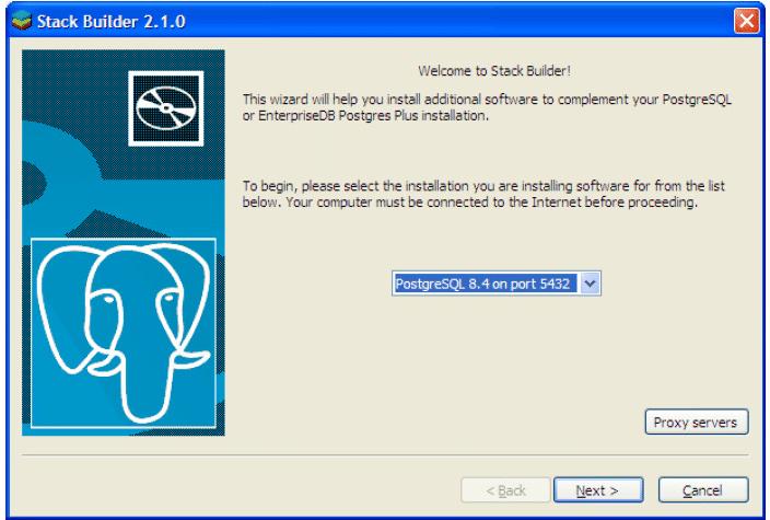 Instalação do PostgreSQL