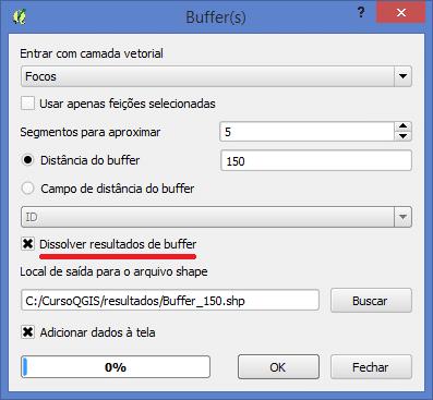 Como fazer um Buffer no Programa QGIS