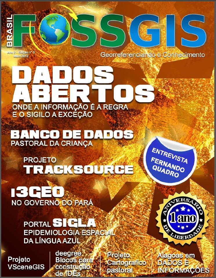 Revista FOSSGIS Brasil: Edição N° 5 | Dados Abertos