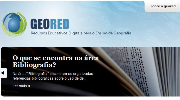 GEORED – Recursos Educativos Digitais para Ensino da Geografia