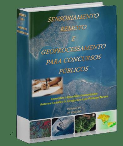 E-book Sensoriamento Remoto e Geoprocessamento para Concursos Publicos