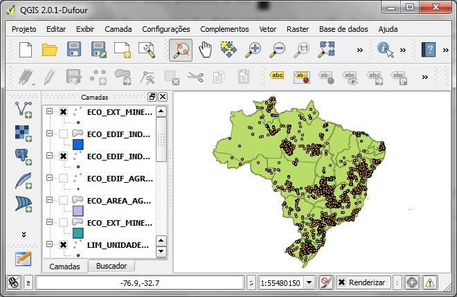 Esri Personal Geodatabase no QGIS
