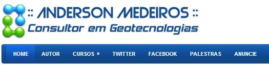 Portal ClickGeo | Consultor em Geotecnologias | Anderson Medeiros