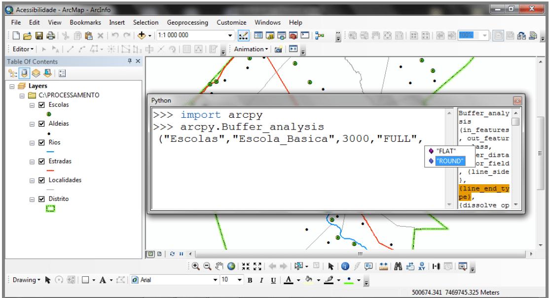 Uso de Python e ArcGIS na Avaliação da acessibilidade das Populações Rurais ao Ensino Básico – Caso do distrito de Chicualacuala