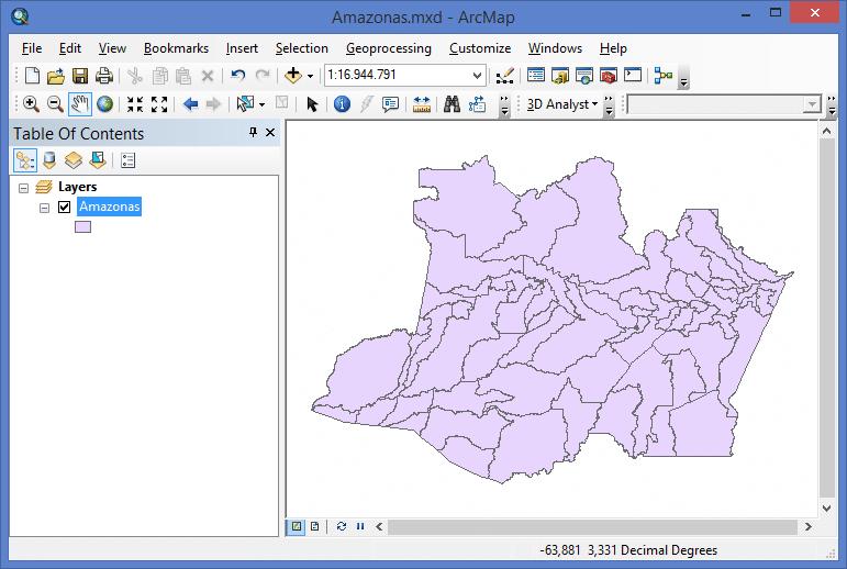 Guia Prático sobre Geração de Mapas Temáticos no ArcGIS