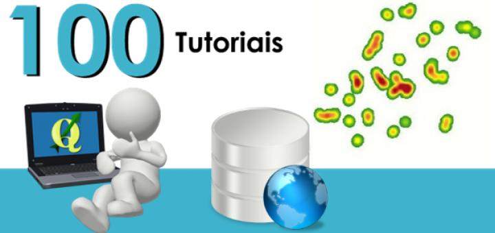 100 Tutoriais em Português sobre o Software QGIS