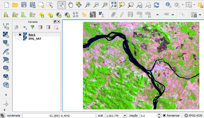 Tutorial: Recorte de Dados Matriciais com QGIS