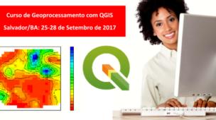 Cursos de Geoprocessamento com QGIS em Salvador/BA