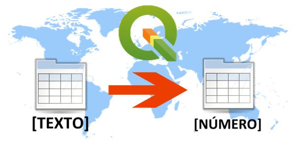 QGIS: Como converter Dados Textuais em Valores Numéricos