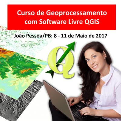 II Semana de QGIS em João Pessoa/PB