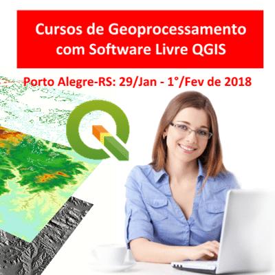 Cursos de Geoprocessamento com QGIS em Porto Alegre/RS