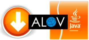 Downloads Applet e Servlet do Alov Map