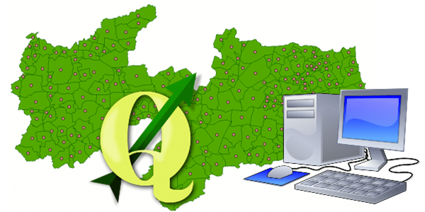 Centróides no Software QGIS