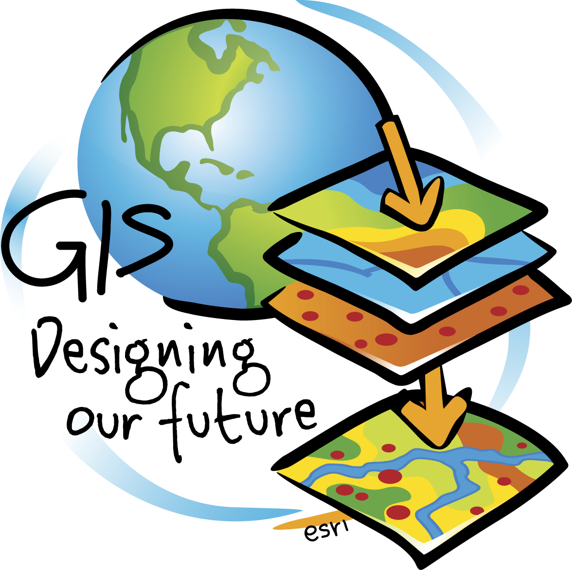 The concept of layers ESRI