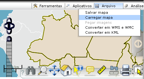 Customizar ícones do i3Geo