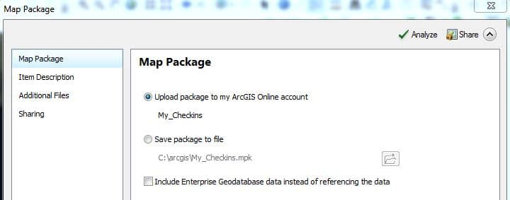 Upload Package