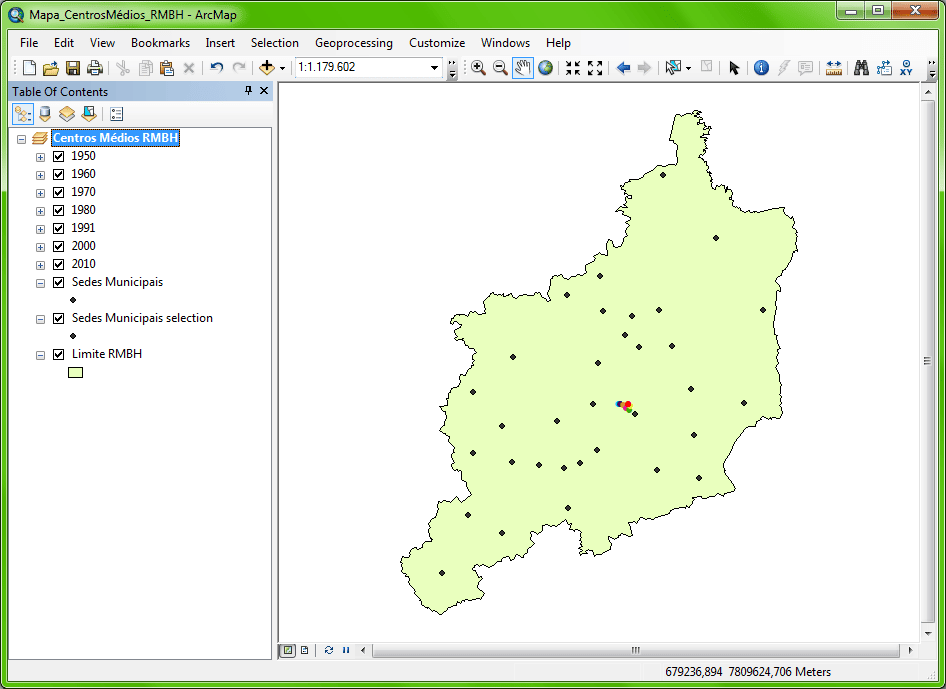 ArcGIS: Output Feature Class