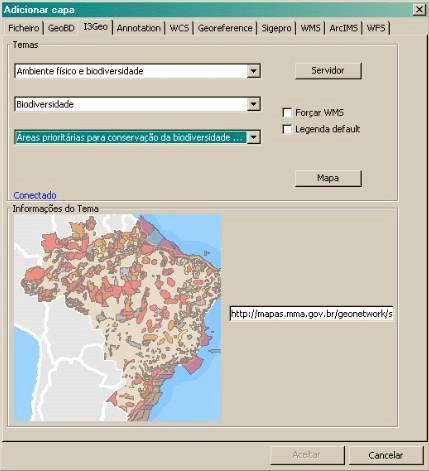 Plugin do i3Geo para o gvSIG