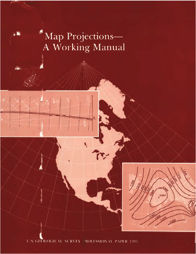 Map Projections: A Working Manual