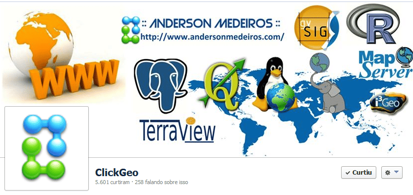 ClickGeo no Facebook