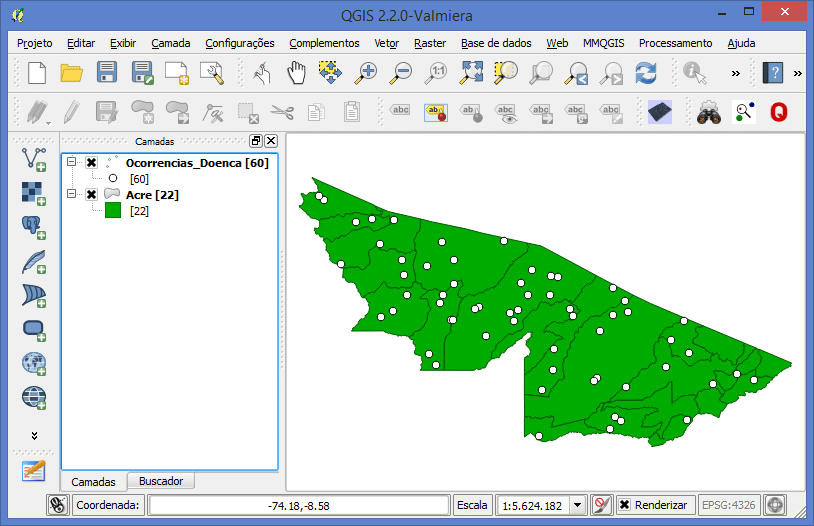 Spatial Join no QGIS
