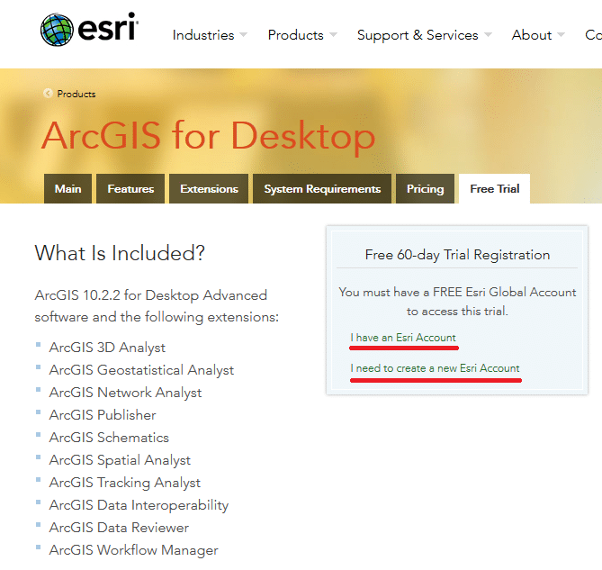 ArcGIS: Download Gratuito