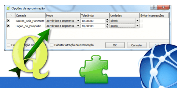 AutoTrace do QGIS