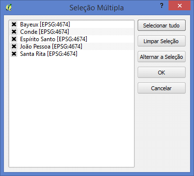 Merge no QGIS Usando Ferramenta do SAGA