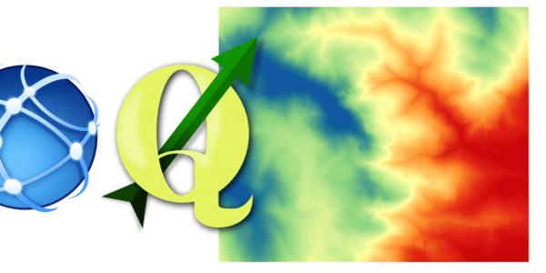 Geração de MDE usando Curvas de Nível no QGIS