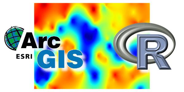 Comparativo de Krigagem no ArcGIS e R