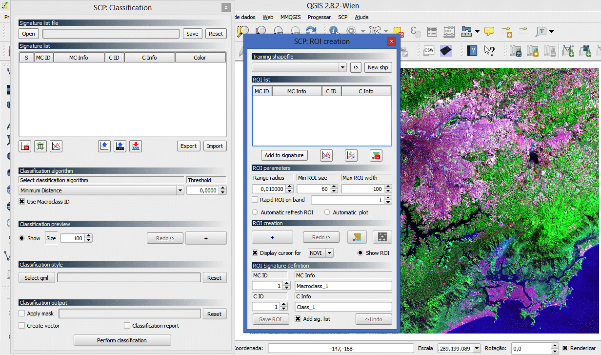 QGIS: Semi-Automatic Classification Plugin