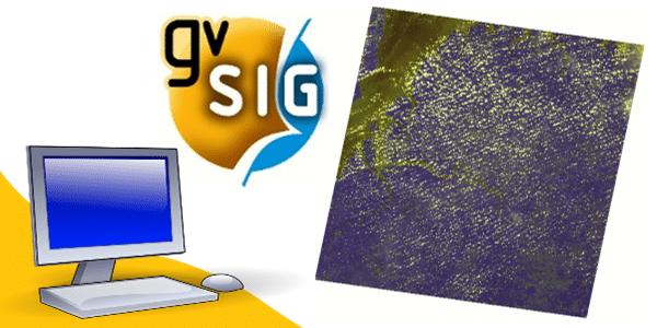 Como fazer uma Composição RGB no gvSIG