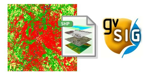 Vetorização de Dados Raster no gvSIG