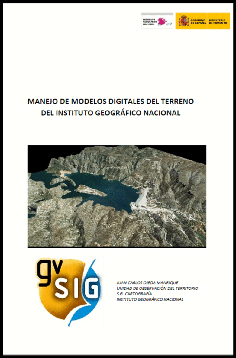Manual sobre gvSIG no Manejo de Modelos Digitais do Terreno