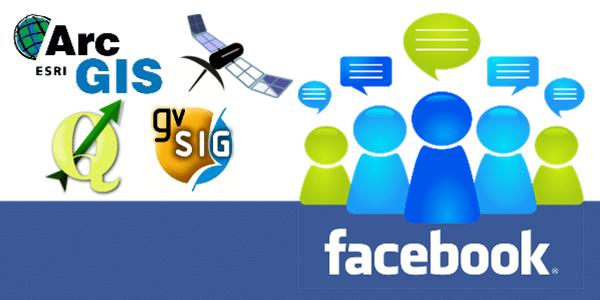 +70 Grupos sobre Geotecnologias no Facebook