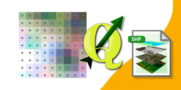 Como converter Valores dos Pixels em Dados Vetoriais com QGIS