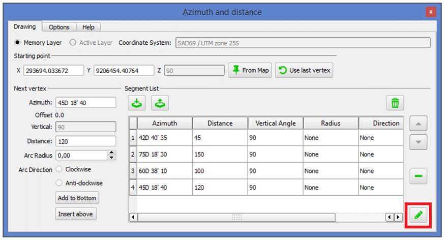 QGIS: Como utilizar o Plugin Azimuth and Distance