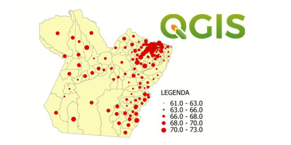 Como fazer Mapas de Símbolos Pontuais Proporcionais no QGIS