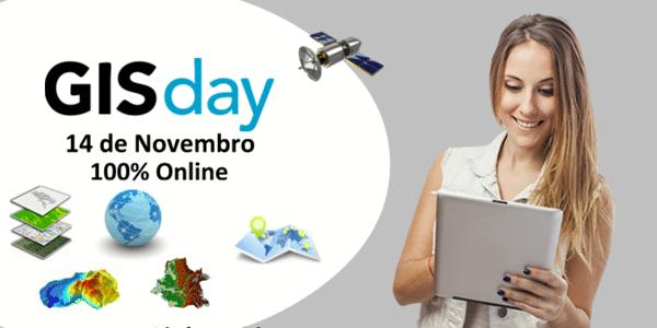 Participe do GISday: 14 de Novembro de 2018 | 100% Online