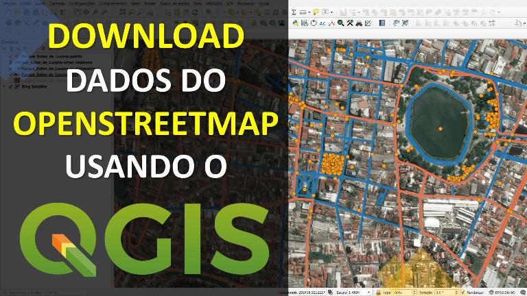 Como Baixar Dados Vetoriais do OpenStreetMap no QGIS